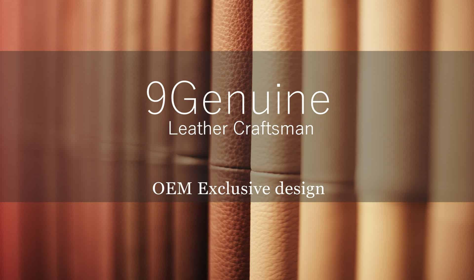 9Genuine OEM bag leather