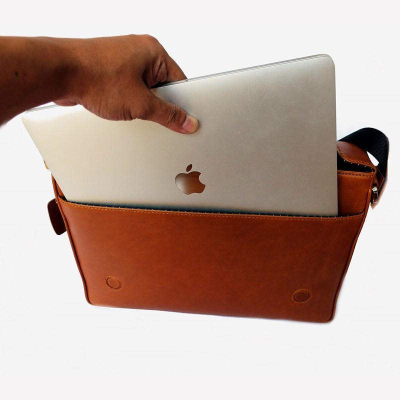 bag for macbook tan