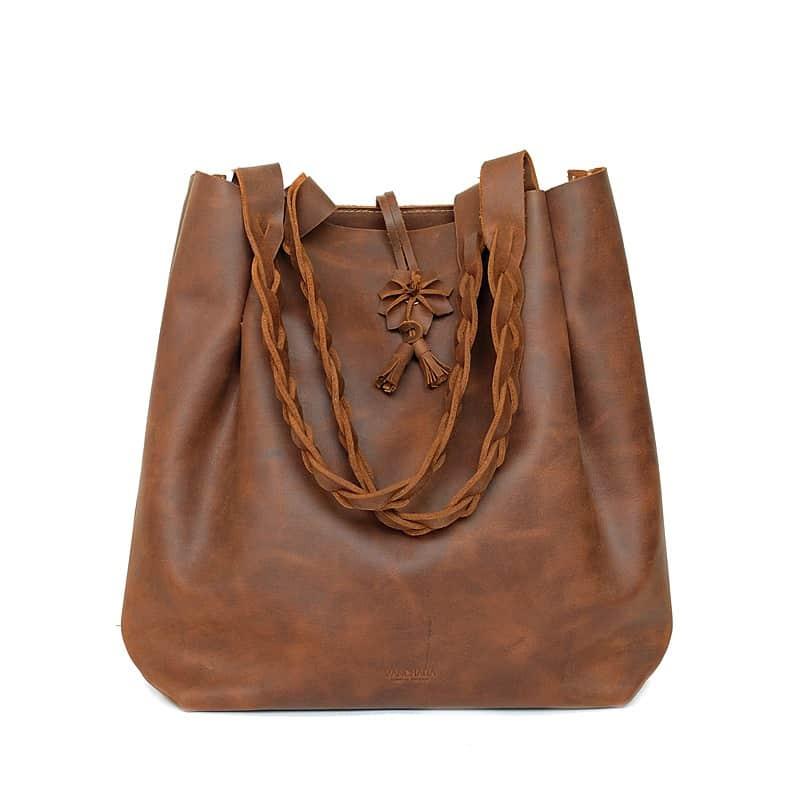 กระเป๋าหนังแท้ Tote bag