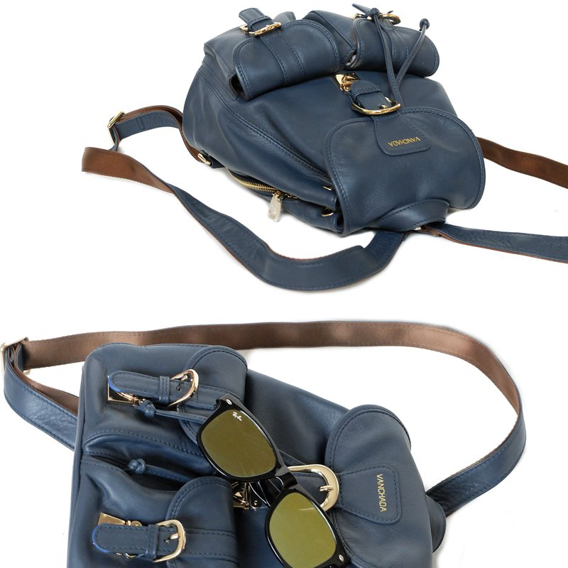 style backpack blue