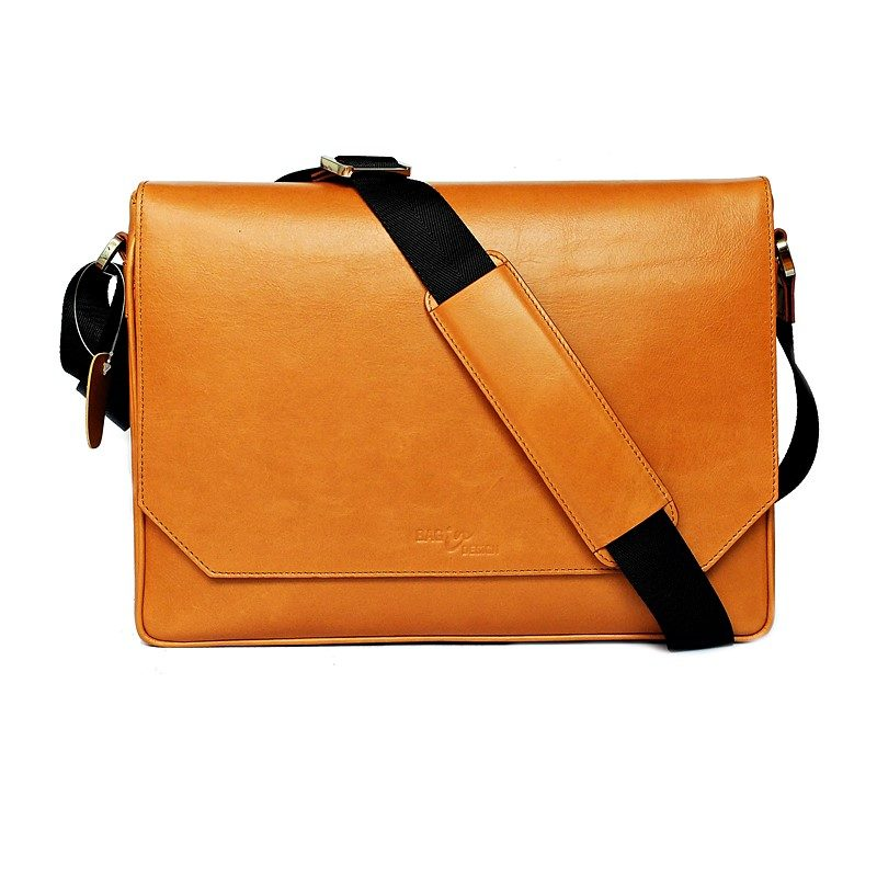 notebook bag macbook caramel