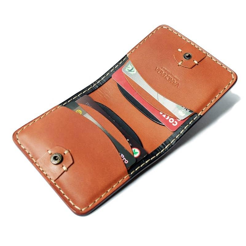 กระเป๋า Wallet tan black