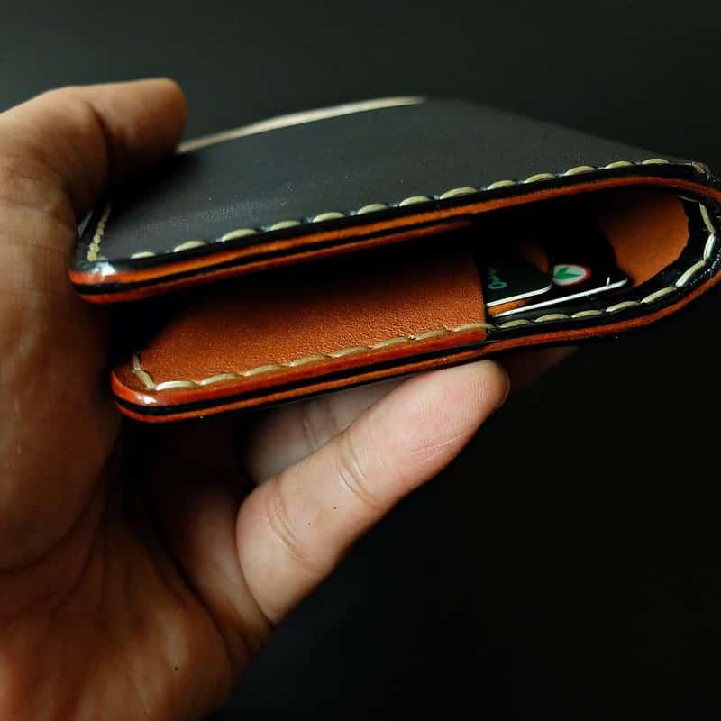 Wallet bi-fold handmade