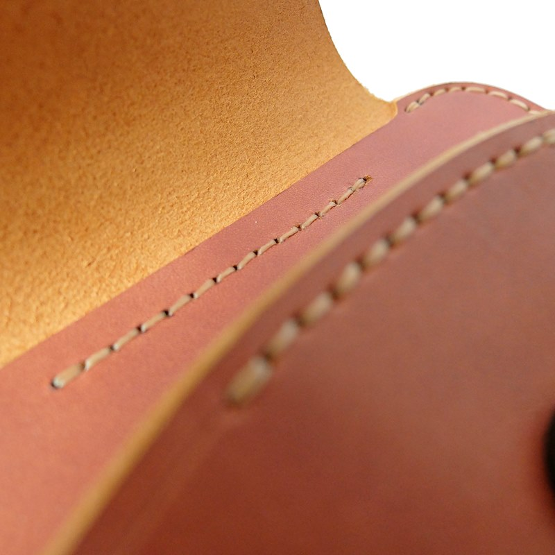 handmade leather glasses