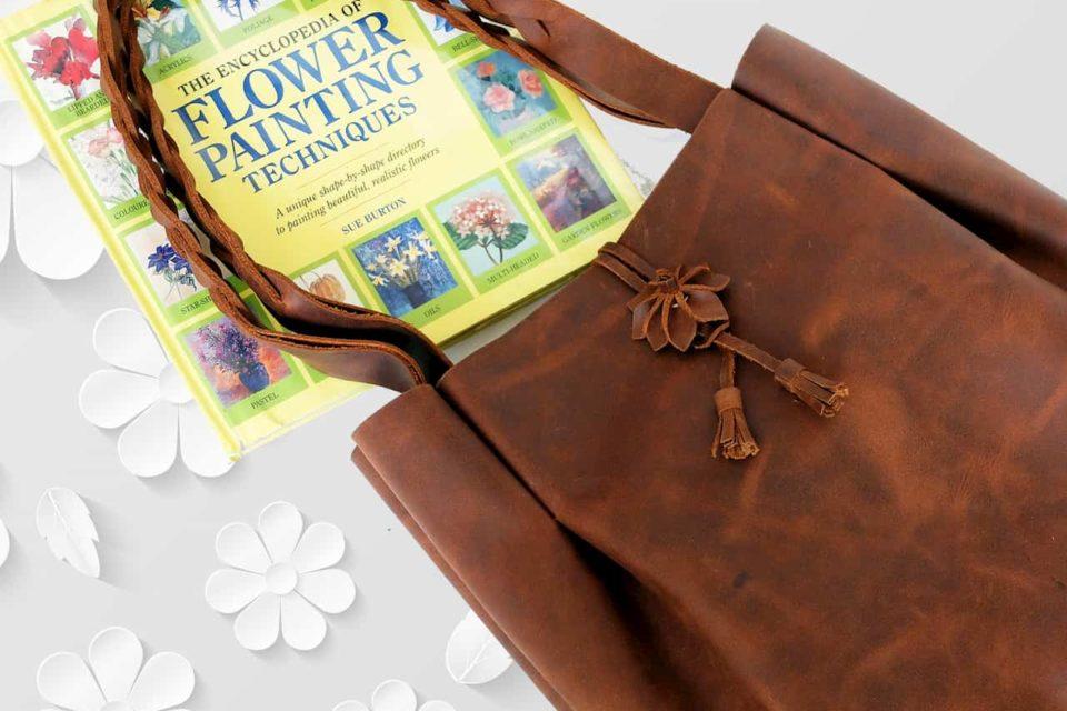 bag handmade floral concept