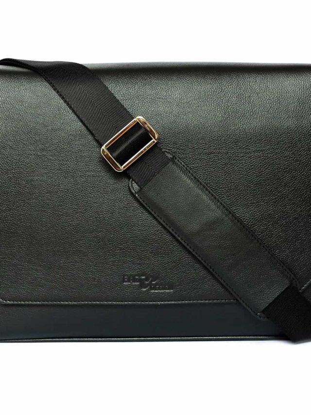 Macbook Smart Satchel Super Black