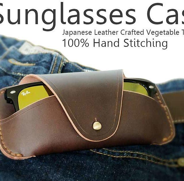 Glasses Case Leather Handmade